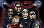 Metallica with Special kid by C4L