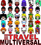Pixel Travel Multiversal by eshonen