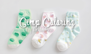GIMP Coloring Pack #1 by bettadenu