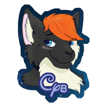 Cyb Badge By Shinyshiningcat by Commander-ShiningCat