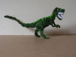 Allosaurus by fuzzyfigureguy