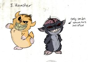 E.Hamster and T.Hamster by Mickeymonster