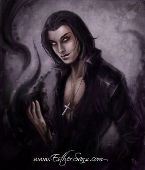 Vampire Character: Cesar by Esther-Sanz