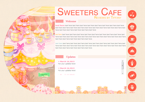 Sweeters Cafe - Layout request (2013) by sweetonic