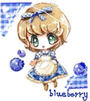 blueberry by curamix666
