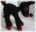 Amigurumi-Deer 'Black Beauty' by Grey-Wolf-86