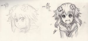 [HDN] drawing hand comparison by Men-dont-scream