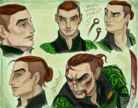 Nod's Dad : Concept Development  Complete by Madchangeling