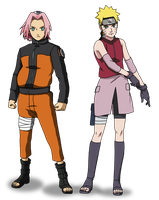 Sakura-naruto head swap by Insert-artistic-nick