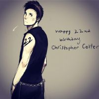 Happy Birthday Chris Colfer by Snowfest