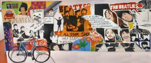 Beatles Anthology Style Mural by DinosaurManZT2