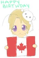 Happy Birthday Canada (2012) by Sky1216