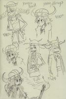 Art of HTTYD Doodles by sailor663