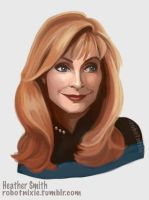Beverly Crusher by robotnixie