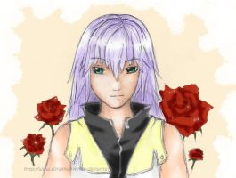 Valentine's Day: Riku by soraxkairi4ever