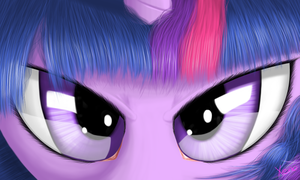 Twilight's eyes by The1Xeno1