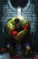 Bloody_Hulk_color by blewh