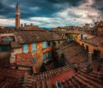 On the rooftops of Italy by INVIV0