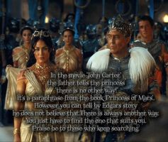 John Carter 21 - Edgar Rice Burroughs - Quotes by jaidaksghost