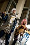 .hack// Balmung of the Azure Sky and Black Rose by suuzan