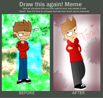 Before and After: Tord by iNSaNiTYAnni