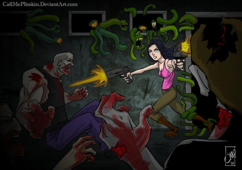 Contest Entry - Jane in Peril by CallMePlisskin