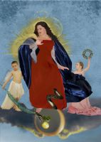 Rubens' Immaculate Conception by xcitykat