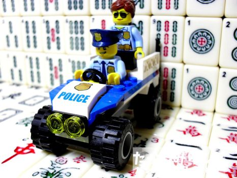 My LEGO City Police Collection - 1 by takeshimiranda