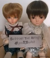 Support the Artists by Morbid-Delusions