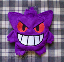 Pokemon: Gengar Zipper Pouch by sugarstitch