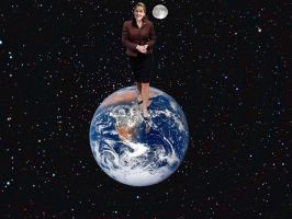 SARAH PALIN RULES  AND STOMPS ON THE EARTH by darthbriboy