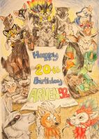 Happy Birthday ARVEN92!!! by Sally-Ce