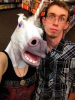So I found a horse mask... by PrinceOfPink