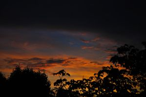 Sunset from my window by dcheeky
