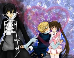 Pandora Hearts: Stop That by krazie4anime
