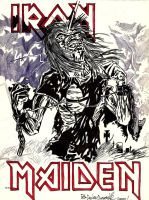 iron maiden cover by belzebbub