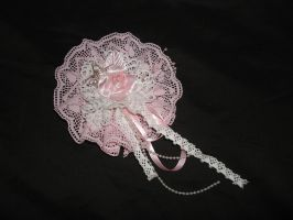 Sweet Pink Lolita Fascinator by smallrinilady