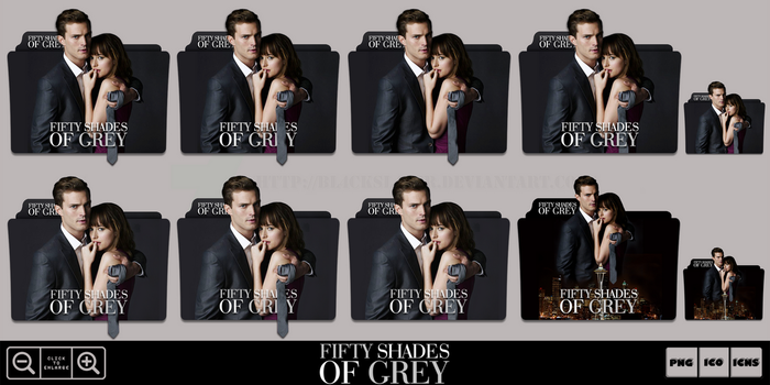 Fifty Shades of Grey (2015) Folder Icon Pack by Bl4CKSL4YER