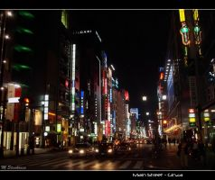 Main Street - Ginza by Elric-1