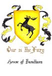 House of Baratheon - Coat of Arms by GisaPizzatto