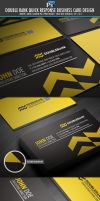 DoubleRank quick response business card by Lemongraphic