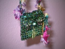 Beaded Amulet Doll Purse by sancha310sp