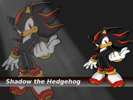 Shadow the Hedgehog Wallpaper by Omegey