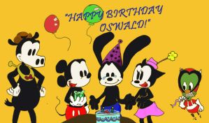 Happy Birthday Oswald by dnxlightangel