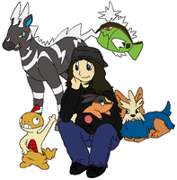 Pokemon Black Team by Miiroku