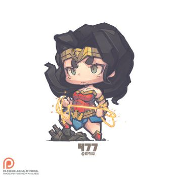 477 - Wonder Woman by Jrpencil