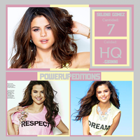 Photopack 072 - Selena Gomez by PowerUpEditions