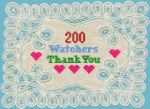 200 Watchers by sweetmarly