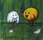 The Lonely Chick by natrat