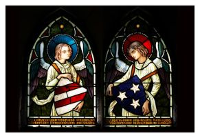 Stained Glass Angels by xtych